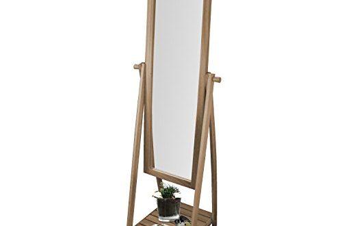 Multistore 2002 Standspiegel mit Ablage 52x48x174cm Holz Ganzkoerperspiegel Ankleidespiegel Garderobenspiegel 500x330 - Multistore 2002 Standspiegel mit Ablage 52x48x174cm Holz Ganzkörperspiegel Ankleidespiegel Garderobenspiegel Flurspiegel